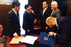Potpisivanje ugovora / Foto: mppi.hr