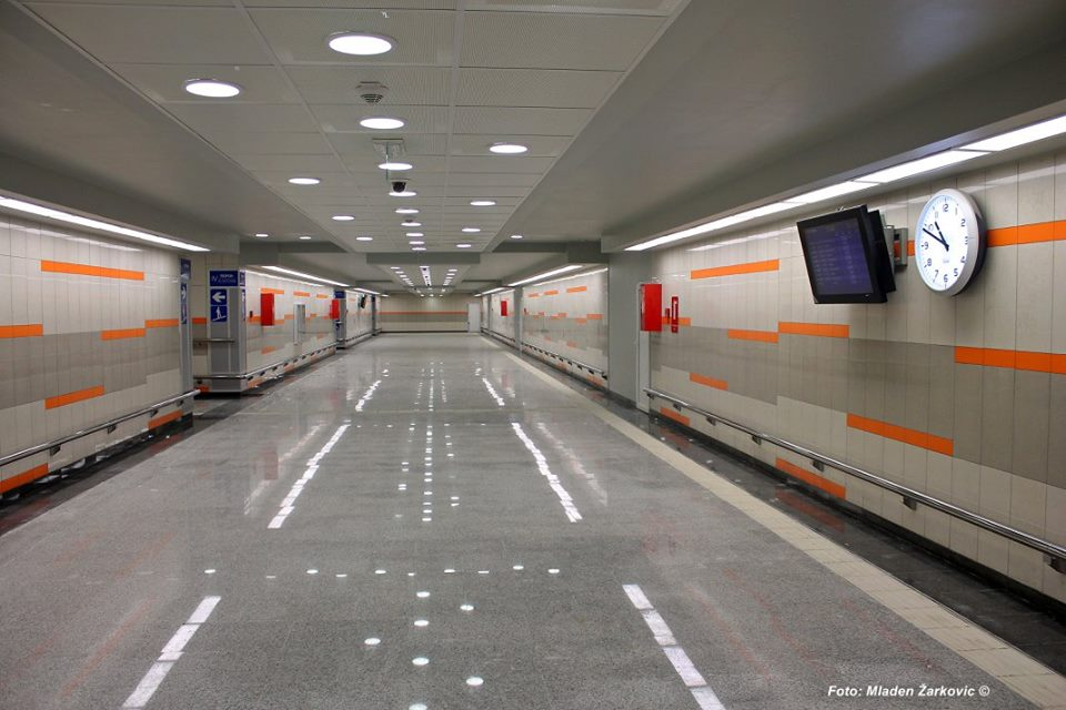 Željeznička stanica Beograd Centar / Foto: Mladen Žarković