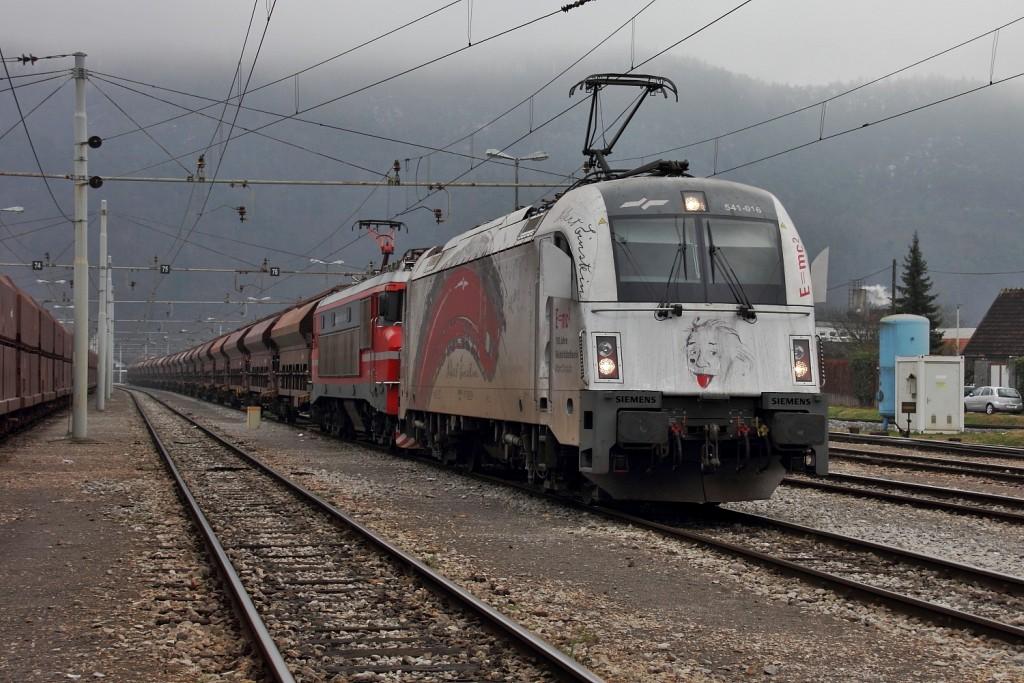 Teretni vlak Slovenskih Železnica / Foto: Aleš Jordan