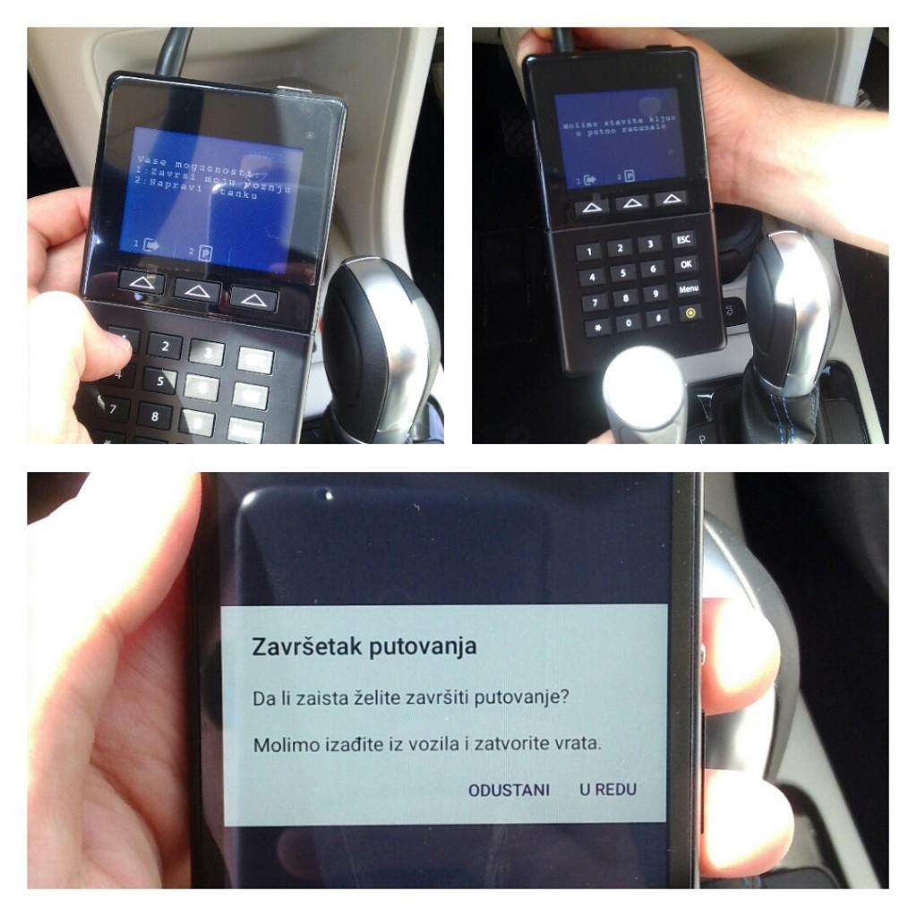 Završavamo vožnju, vraćamo ključ u putno računalo i zaključavamo automobil / Foto: Filip Slavujević