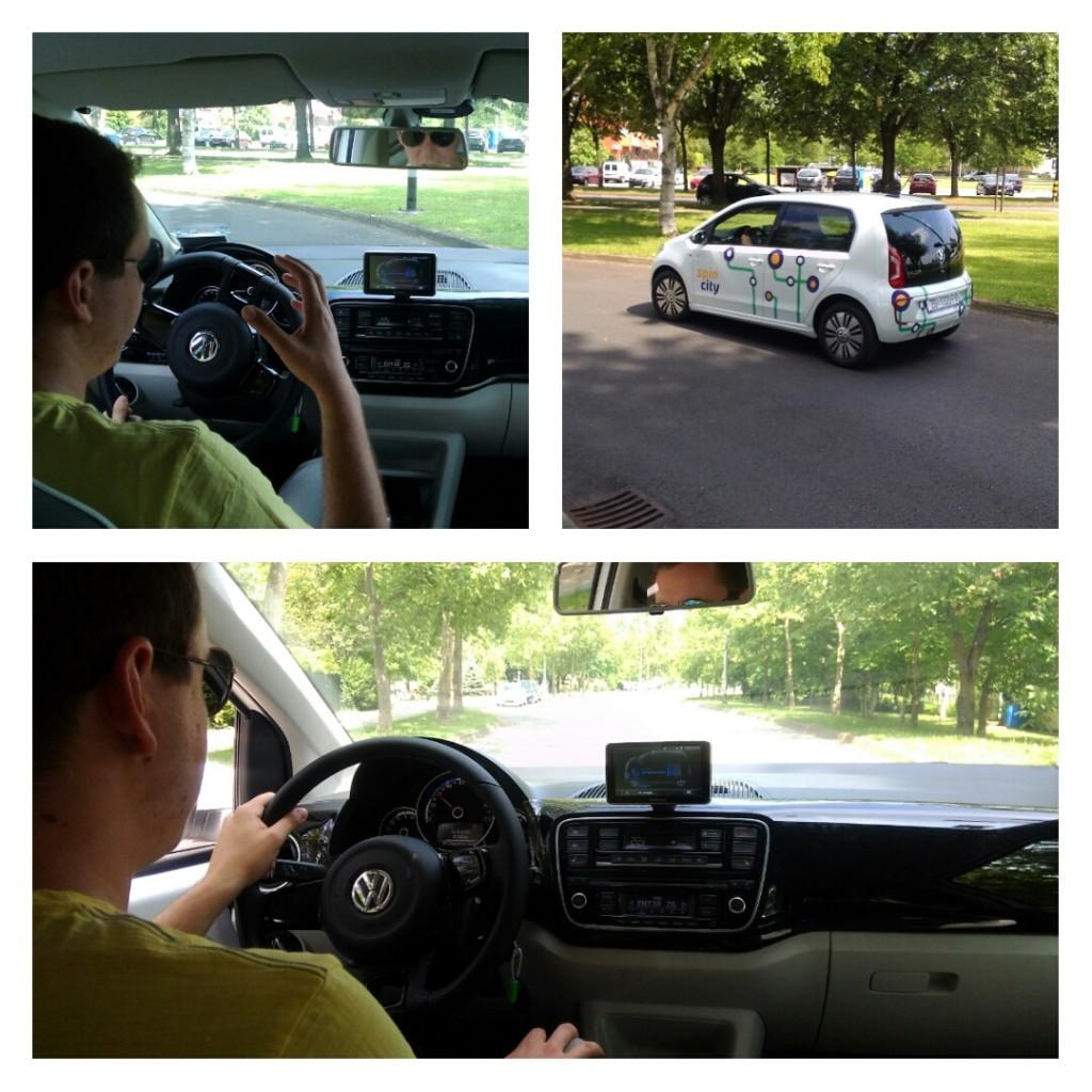 Vožnja Jarunom i razgovor s kolegom o električnim autima.