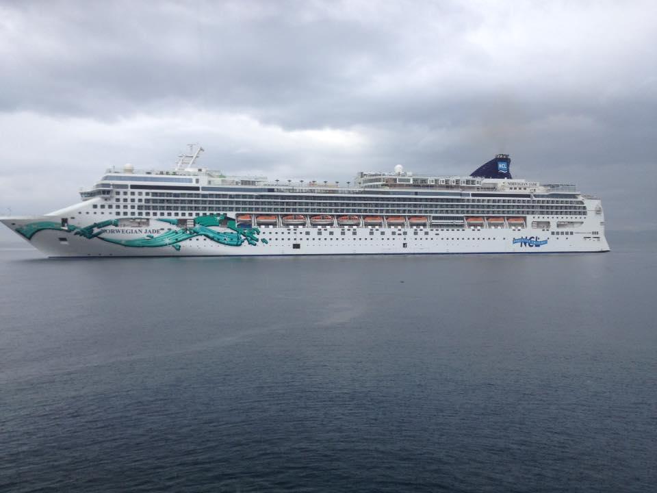 Norwegian Jade / Izvor: Facebook stranica Brodovi u Rijeci