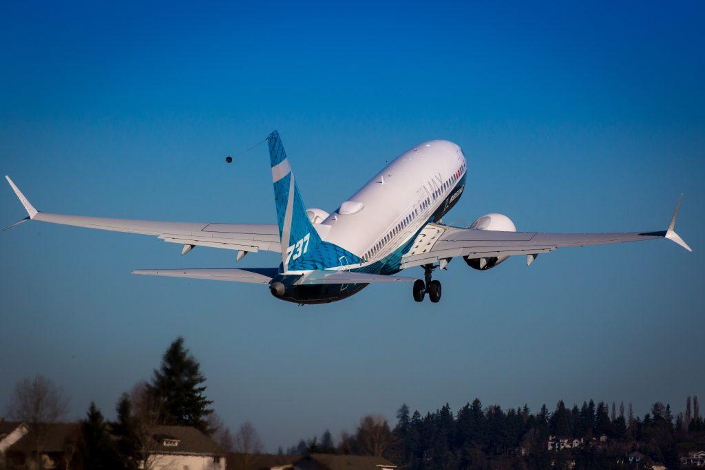 Polijetanje Boeinga 737 MAX 7