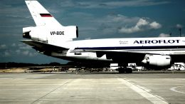 zrakoplov najveće ruske aviokompanije Aeroflot