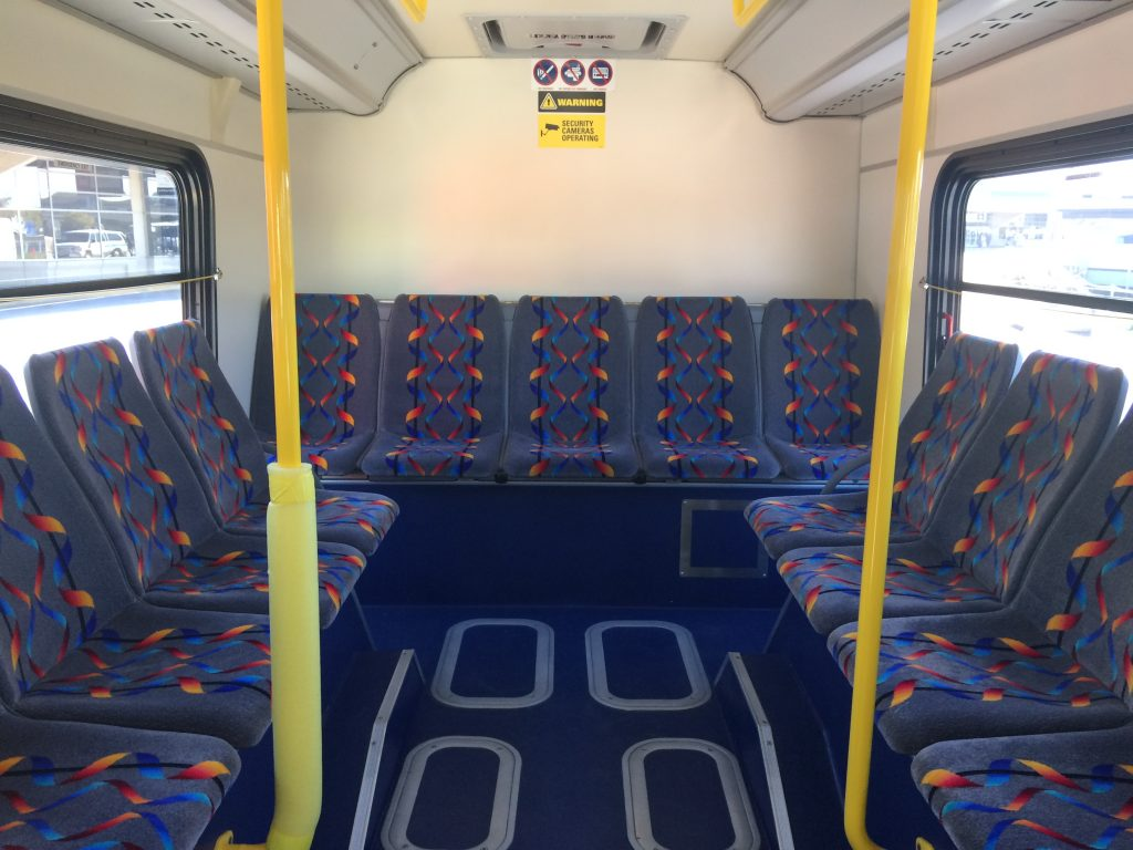 Unutrašnjost autobusa