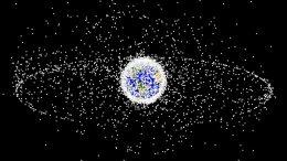 Svemisrko smeće koje orbitira Zemljom
