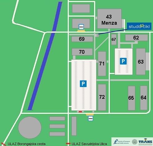 Karta Kampusa Borongaj