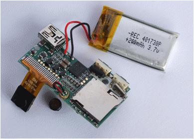 Izrada IC senzora za studentski projekt.