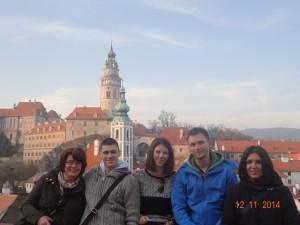 Na putu za Prag delegacija je posjetila grad Česky Krumlov
