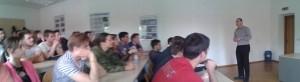 Pozvano predavanje Igora Rausa studentima aeronautike