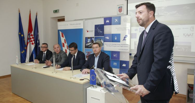 Signing of Cooperation Agreement between Croatian Partners