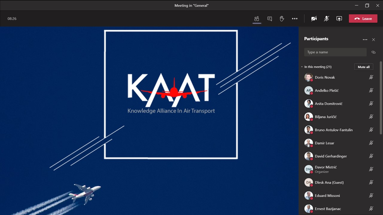 Thumbnail for the post titled: KAAT workshop at UNIZG