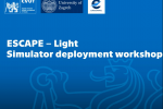 Thumbnail for the post titled: Workshop on Escape Light deployment at CTU Prague and University of Zagreb